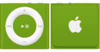 Apple iPod shuffle 4th Generation (Late 2010) Green (2GB)