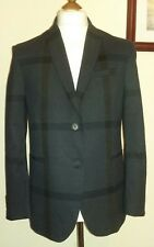 SISLEY Women's Blazer Navy Size ITA 44 UK 12