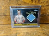 WWE Sheamus 2015 Topps Chrome Event Used Night of Champions Mat Relic Card