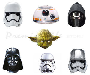 Star Wars The Force Awakens Official Character Face  Masks