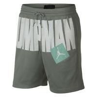 Jordan Jumpman Air Shorts Men New Mens Mica Green Mint White AA4607-307
