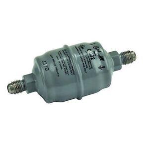 "Robinair 100343 Pre Filter, Moisture Removal, Drier, 1/4"" MFL x 1/4 Male Flare"