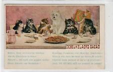 DEBEUKELAER'S CACAO: Advertising postcard by Louis Wain (C30554)