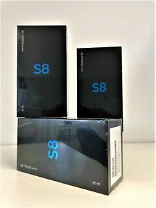 Samsung Galaxy S8 64GB SM-G950 Schwarz BRANDNEU OhneSimlock VERSIEGELT