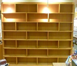 American oak veneer large Bookcases