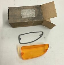 1972 NOS Plymouth Fury Front Amber Turn Signal Lens LH Driver Sport I II III Cop