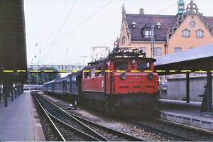 Farb-Foto ÖBB E-Lok 1670.27 Lindau Hbf 1980
