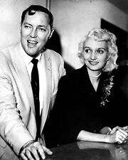 BILL HALEY & WIFE @ THE SAVOY HOTEL IN LONDON 1957 8X10 PUBLICITY PHOTO (ZZ-018)
