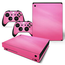 Xbox One X Skin Design Foils Sticker Screen Protector Set - Pink Motif