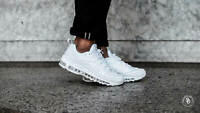 New Mens Nike Air Max 98 Shoes in White/Pure Platinum Black Colour Size 9.5