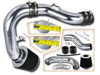 BCP BLACK For 02-07 WRX/STi 2.0L/2.5L Turbo Cold Air Intake Induction Kit+Filter