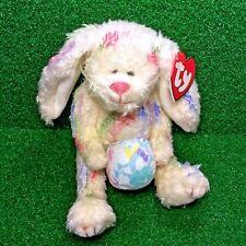 NEW Retired Ty Attic Treasures Georgia The Bunny Rabbit 1993 Jointed Plush MWMT