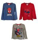 OFFICIAL MARVEL Spider-Man Spider-Man Haut Manches Longues / T-shirt 4 à 10 ans