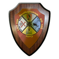 Wappenschild LfzT Stff Restflugbetrieb BO 105 Heeresflieger Instandsetzung#22823