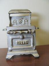 Antique Miniature Toy Cast Iron Gas Stove
