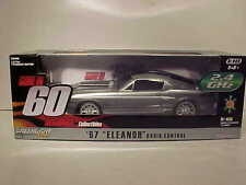 Radio Control Gone in 60 Eleanor 1967 Ford Mustang Car 1:18 Greenlight 10inch RC