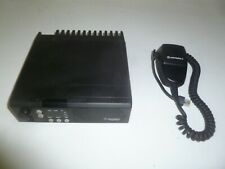 Motorola Radius Gm300 465-490 Mhz Uhf 40 Watt Two Way Radio w Mic M44Gmc29C4Aa