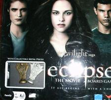 The Twilight Saga Eclipse Board Game, Collectible Metal Pieces Sealed FREE SHIPP