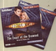 DOCTOR WHO: THE FEAST OF THE DROWNED / READ BY DAVID TENNANT - 2  AUDIOBOOK CDs