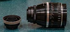 Carl Zeiss Jena 180mm F2.8 w Hood & Fotodiox Nikon F and Pentacon 6 Adapters