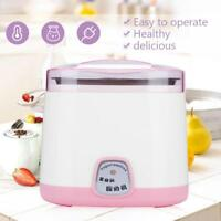 1L Digital Automatic Yoghurt Yogurt Maker Machine +Stainless Steel Container DIY