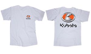 Kubota logo t-shirt tractor
