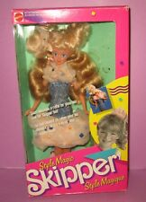 Barbie Style Magic Skipper Vintage Foreign Sister Blonde Doll in Box NRFB MIB