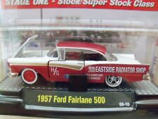 M2 MACHINES - AUTO-DRAGS - H/STOCK 1957 FORD FAIRLANE 500 DRAG CAR - 1/64