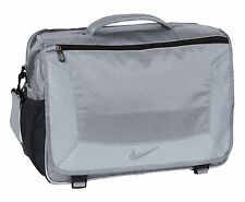 "Nike Golf Elite Premium 15"" Laptop / MacBook Pro Business Messenger Bag Gray New"