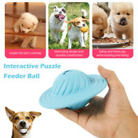 Dog Toy Smart Interactive IQ Toy Treat UFO Puzzle Food Dispenser Feeder Ball