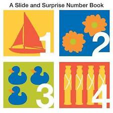 A SLIDE AND SURPRISE NUMBERS BOOK * NEW HARDCOVER * BOARD BOOK * PRIDDY