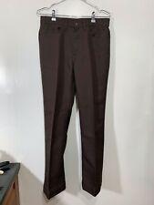1970s Levi's Mens Brown Polyester Pants Bootcut Black Label