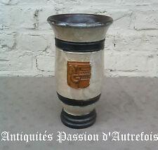 B201684 - Vase en grès signé Losson - Bouffioux - Publicité Nouvelle gazette