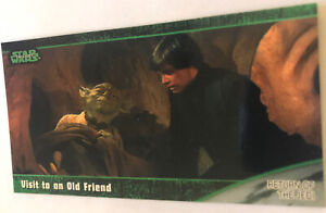 Return Of The Jedi Widevision Trading Card 1997 #58 Visit To An Old Friend Yoda