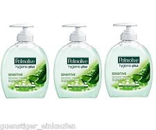 3x 300ml Palmolive hygiène plus sensible Savon liquide Protection bactérienne