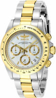 Invicta Men's Signature Chronograph 200m Two Tone Stainless Steel Watch 7029