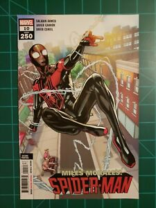 Miles Morales Spider-man #10 2nd Printing (9.2, NM-) * 1 Book Lot *