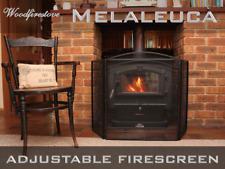 FIRE SCREEN *GUARD SHIELD / FIREPLACE FIRESCREEN / BLACK IRON 3 PANEL Melaleuca