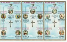 graphic regarding How to Pray the Rosary Printable Booklet identify rosary booklet merchandise for sale eBay