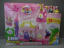 New Fisher-Price Little People Disney Princess Musical Dancing Palace Playset