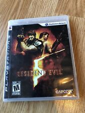 Resident Evil 5 (Sony PlayStation 3, 2009) Ps3 VC4