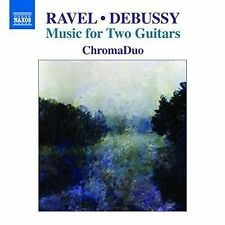Ravel & Debussy: Music for Two Guitars, New Music