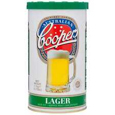 Coopers HOME BREW LAGER HOPPED MALT CONCENTRATE BEER 1.7Kg Makes 23L *AUS Brand