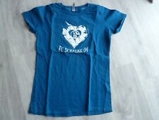 T-Shirt für Damen Schalke 04 Gr. S blau