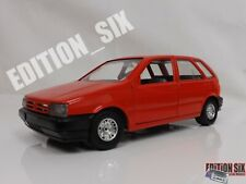 Burago 1:24 1988 FIAT TIPO Road car red Classic near vintage diecast model