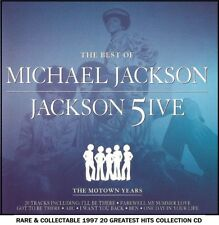 Michael Jackson & The Jackson 5 Best 20 Greatest Hits Collection CD Motown Years