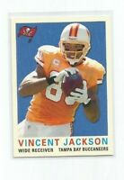 VINCENT JACKSON (Tampa Bay Buccaneers) 2013 TOPPS ARCHIVES CARD #197