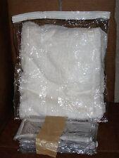 "26 Clear Plastic Storage Bags Zippered 13"" x 15"" x 4""  New"