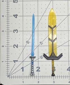 "1/12 or 6"" scale Marvel Legends Walgreens Exc X men New Mutants Magik swords set"
