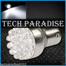 1x Ampoule 19 LED Bulb Blanc White feux stop P21W / BAY15D / 1157 / R5W 12V